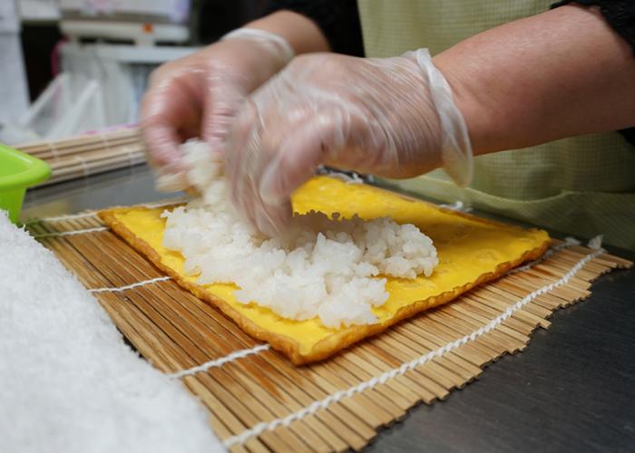太巻き寿司の工程3