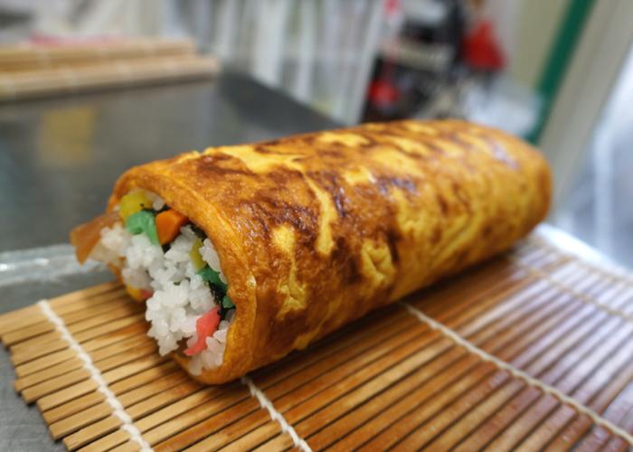太巻き寿司の工程6