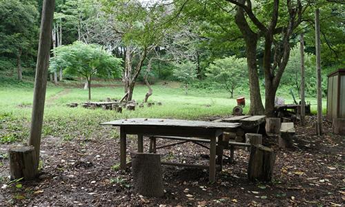 市原米沢の森を考える会キャンプ広場